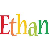 Ethan birthday logo