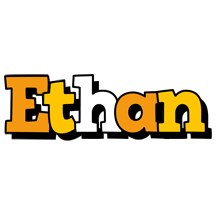 Ethan cartoon logo