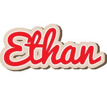 Ethan chocolate logo