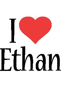 Ethan i-love logo
