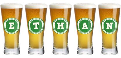 Ethan lager logo