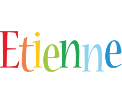 Etienne birthday logo