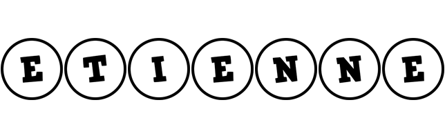 Etienne handy logo