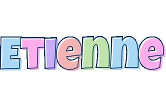 Etienne pastel logo