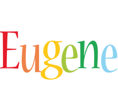 Eugene birthday logo