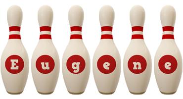 Eugene bowling-pin logo