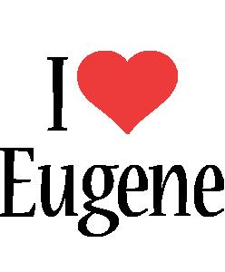 Eugene i-love logo
