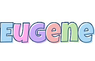 Eugene pastel logo