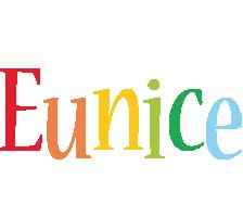 Eunice birthday logo