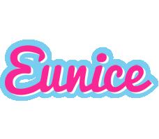 Eunice popstar logo