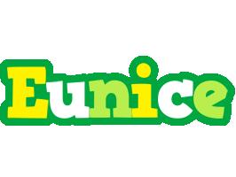 Eunice soccer logo