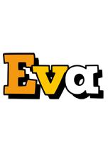 Eva cartoon logo