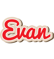 Evan chocolate logo