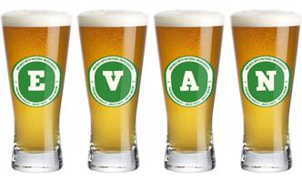 Evan lager logo