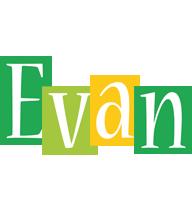 Evan lemonade logo