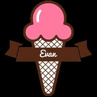 Evan premium logo
