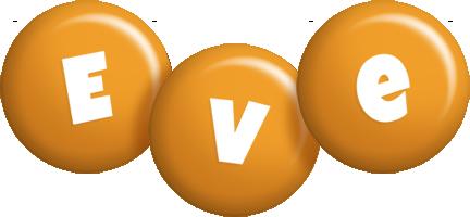 Eve candy-orange logo