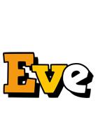 Eve cartoon logo