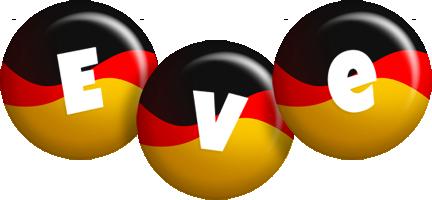 Eve german logo