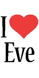 Eve i-love logo