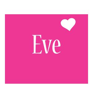 Eve love-heart logo