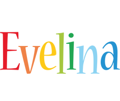 Evelina birthday logo