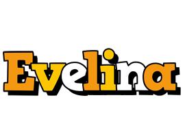 Evelina cartoon logo