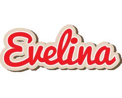 Evelina chocolate logo