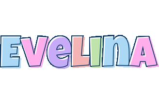 Evelina pastel logo