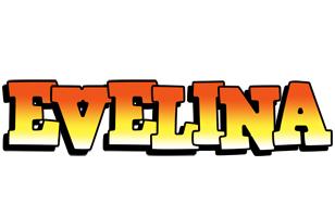 Evelina sunset logo