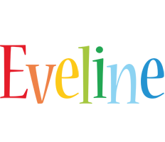 Eveline birthday logo