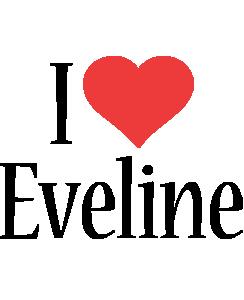 Eveline i-love logo