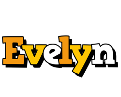 Evelyn cartoon logo