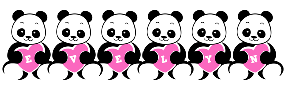 Evelyn love-panda logo