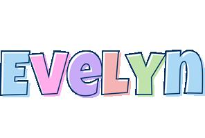 Evelyn pastel logo