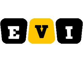 Evi boots logo