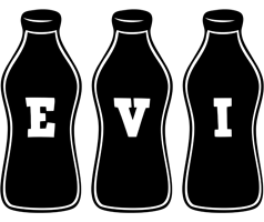 Evi bottle logo
