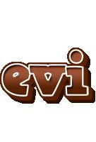 Evi brownie logo