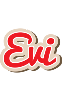Evi chocolate logo