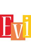 Evi colors logo