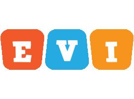 Evi comics logo