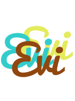Evi cupcake logo