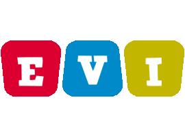 Evi daycare logo