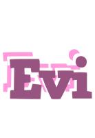 Evi relaxing logo