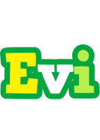 Evi soccer logo