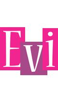 Evi whine logo