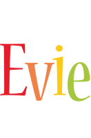 Evie birthday logo