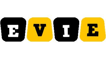 Evie boots logo