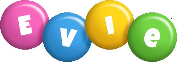 Evie candy logo