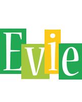 Evie lemonade logo
